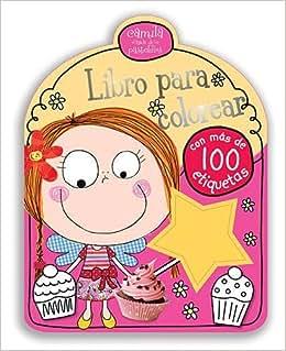 Camila, Libro Para Colorear (Spanish Edition)