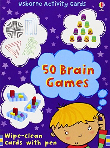50 Brain Games (Activity Cards)