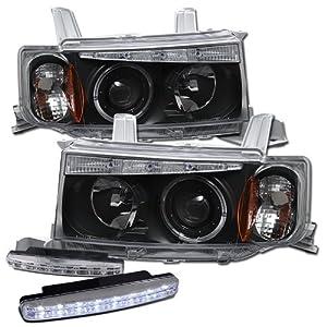 Amazon.com: 2004-2006 Scion Xb Halo Headlights Projector ...