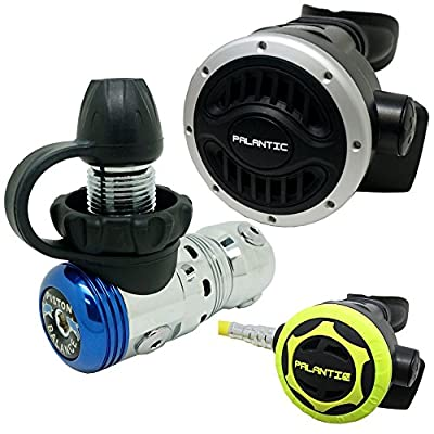 Palantic SCR-02-DIN-NA-OC Scuba Diving AS103 DIN Regulator and Octopus Combo