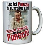 Ekel Alfred Tetzlaff Punsch Silversterpunsch dusselige Kuh Kult Serie - Tasse Kaffee Becher #10636