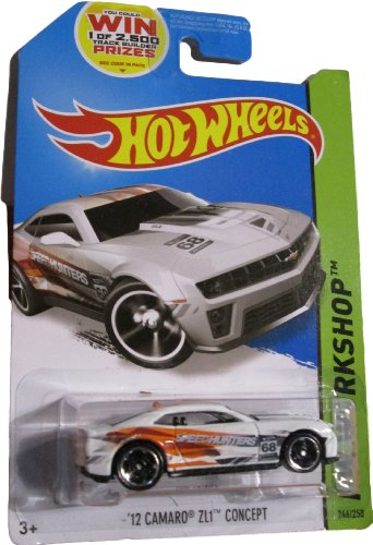 Hot Wheels 2014 Hw Workshop Performance White '12 Camaro ZL1 Concept 246/250 (Camaro 2014 Hot Wheels compare prices)