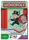 Hasbro 29188100 Compact Monopoly Travel Game