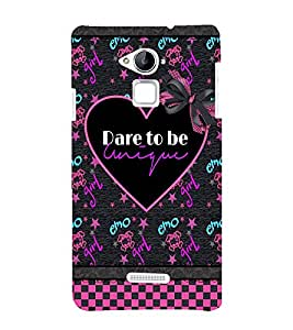 printtech Cool Girl Quote Back Case Cover for Coolpad Note 3