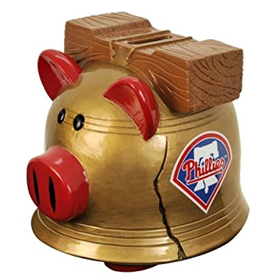 PHILADELPHIA PHILLIES MLB TEAM THEMATIC PIGGY BANK (LARGE) by Forever Collectibles