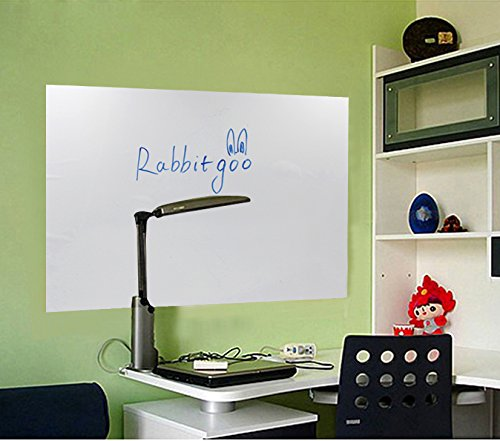Rabbitgoo-Self-Adhesive-Wall-Sticker-Wall-Paper-Blackboard-Sticker-Chalkboard-Contact-Paper-177-by-787-Inches-for-School-Office-Home