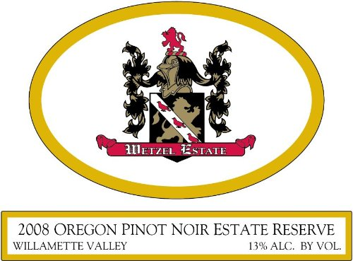 2008 Wetzel Estate Pinot Noir Estate Reserve 750 Ml