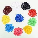 150 Set T5 SNAPS 10 Farben Druckknöpfe Druckknopf für Zange