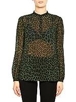 Michael Kors Camisa Mujer MF64L0V53S (Musgo)