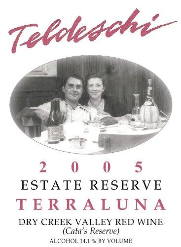 2005 Teldeschi Terraluna, Estate Reserve, Dry Creek Valley 750 Ml