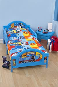Character World 125 x 150 cm Thomas and Friends Power Junior Rotary Bedding Bundle, Multi-Colour