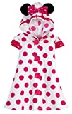 Disney Store Minnie Mouse Polka Dot Swimsuit Cover Up with Ears: Toddler Size 3T