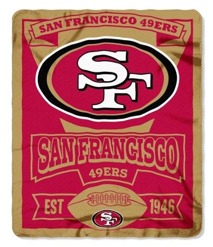 49ers Blanket Fleece front-1045775