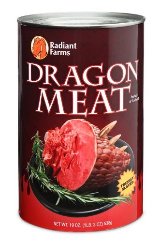 Canned Dragon Meat by ThinkGeek