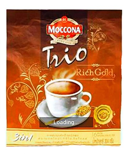 MOCCONA INSTANT COFFEE MIXED ESPRESSO GOLD 19G. PACK 16SACHETS (Godiva Espresso Beans compare prices)