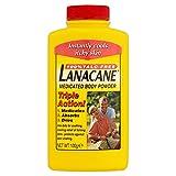 6 x Lanacane Medicated Body Powder 100g