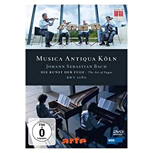 Bach, Johann Sebastian - Die Kunst der Fuge [Reino Unido] [DVD]