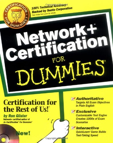 Network + Certification For Dummies