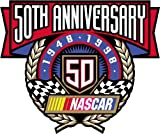 50 Anniversary NASCAR Racing Car Bumper Sticker 12X12cm