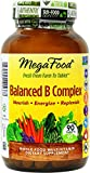 MegaFood - Balanced B Complex, Promotes Energy and Health of the Nervous System, 90 Tablets (Premium Packaging)
