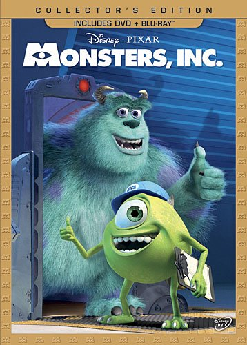 Monsters, Inc. (Three-Disc Collector's Edition: Blu-ray/DVD Combo
