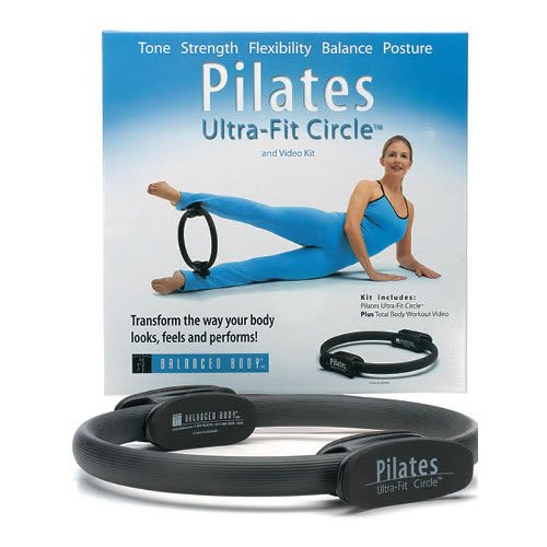 Ultra-Fit Circle for Pilates - Tones Strengthens Adds Flexibility to Body