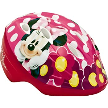 For the little Minnie Mouse fan this helmet is the perfect choice - Pedal in style and cuteness with darling Minnie Mouse graphics with essential safety features.