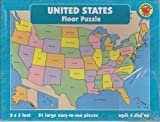 img - for United States Floor Puzzle Atlas with a Reference Workbook for Ages 6-8 - Boxed Set (Gifted and Talented) book / textbook / text book