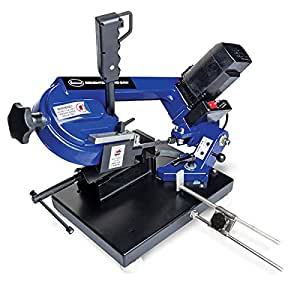 Eastwood Bandsaw Bench Top Variable Speed Metal Cutting Blade Band Saw Automotive