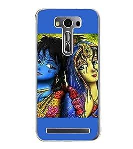 Radha Krishna 2D Hard Polycarbonate Designer Back Case Cover for Asus Zenfone Selfie ZD551KL