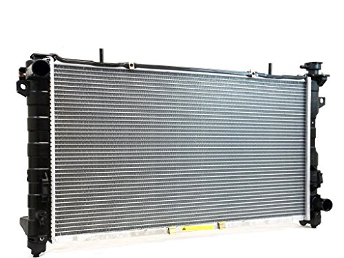 CIFIC 2311 Complete Radiator For Chrysler Town & Country Dodge Caravan 3.3/3.8L (2001 Dodge Grand Caravan Radiator compare prices)