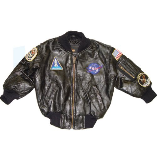 Youth Leather NASA MA-1 with Patches - Buy Youth Leather NASA MA-1 with Patches - Purchase Youth Leather NASA MA-1 with Patches (Alpha Industries, Alpha Industries Mens Outerwear, Apparel, Departments, Men, Outerwear, Mens Outerwear)