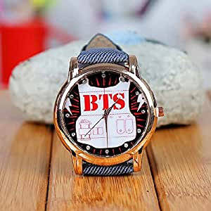 Amazon.com: Kpop Merchandise Bts Bangtan Wrist Watch: Sports