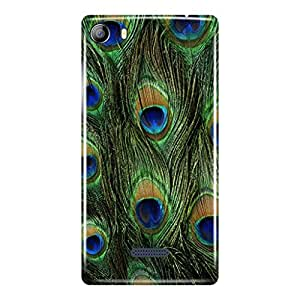 a AND b Designer Printed Mobile Back Cover / Back Case For Micromax Canvas 5 - E481 (MIC_E481_3D_451)