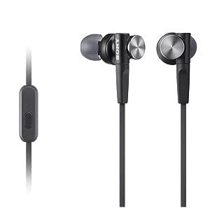 Sony MDR-XB50AP/B Extra Bass Earbud Headset