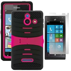 Phone 8 Smartphone Huawei Ascend W1 H883G Prepaid Straight Talk (Black