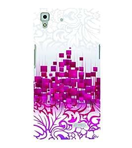 PrintVisa Corporate Print & Pattern Modern Art Floral 3D Hard Polycarbonate Designer Back Case Cover for Oppo R7