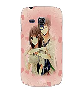 PrintDhaba Couple D-3706 Back Case Cover for SAMSUNG GALAXY S3 MINI (Multi-Coloured)