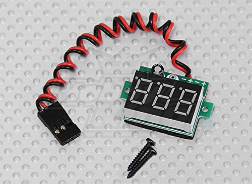 DJI S1000 On-Board LED RX Battery Voltage Display Checker JR Connector 3-30V RC - FAST FREE SHIPPING FROM Orlando, Florida USA! - 1