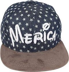 ILU Merica Snapback Cap For Kids (2 to 14 years kids)
