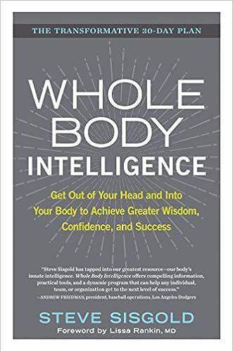 Whole Body Intelligence