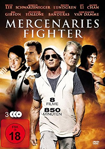 Mercenaries Fighter [3 DVDs]