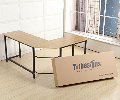 Tribesigns Modern L Shaped Desk Corner Computer Desk Pc Latop Study Table Workstation Home