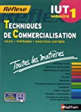 Toutes les matières IUT Techniques de Commercialisation - Semestre 1