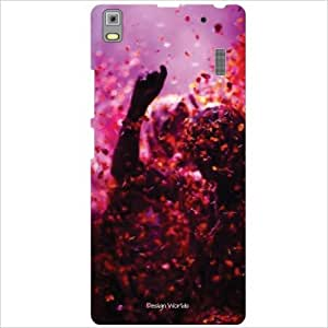 Design Worlds - Lenovo K3 Note PA1F0001IN Designer Back Cover Case - Multic...