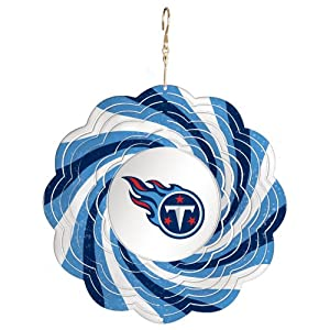 Tennessee Titans Logo Metal Geo Spinner by Fans With Pride