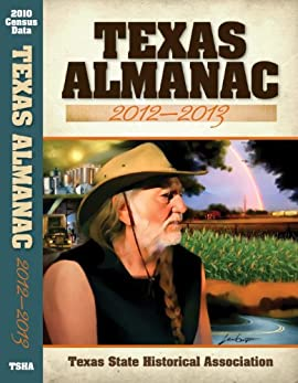 Texas Almanac 2012-2013 - Hardcover