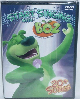 Start Singing with BOZ 20 Songs Kids Christian DVD