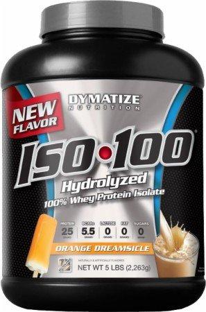 Dymatize Iso-100 5 Lbs. - Orange Dreamsicle