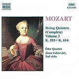Mozart: String Quintets, K. 593 & K. 614